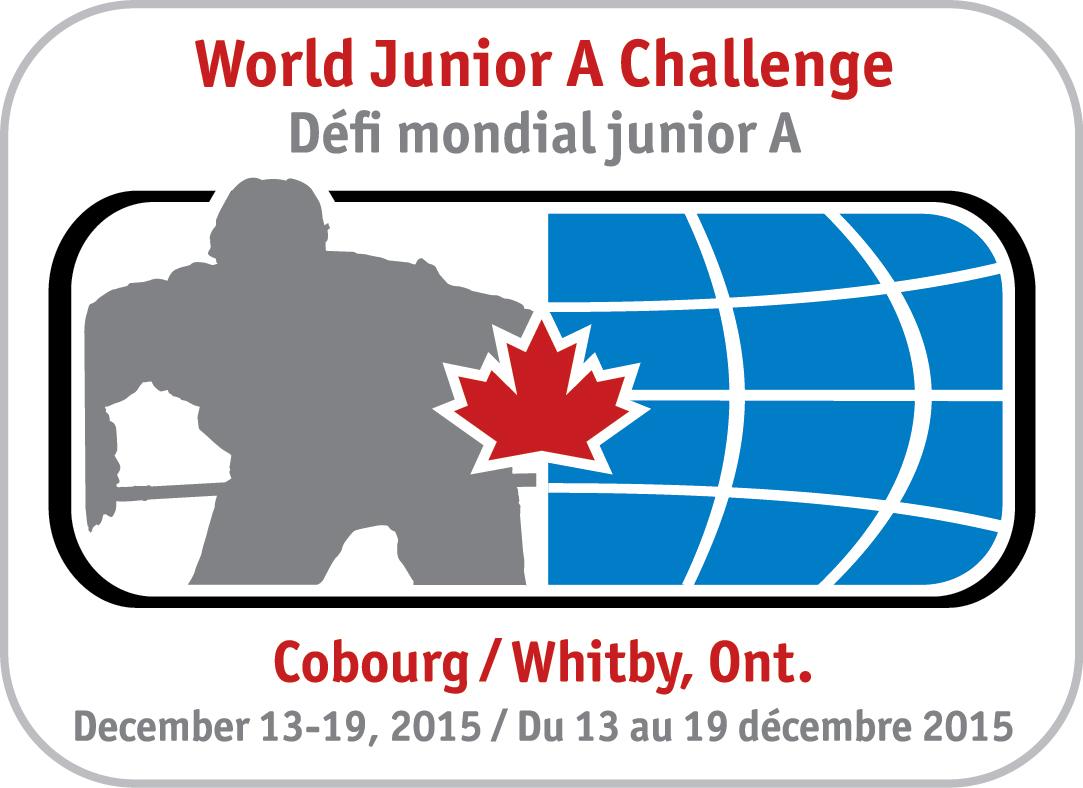 CJHL World Jr A Challenge Logo