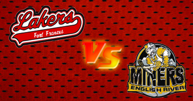 Lakers Fall to Miners on Home Ice in SIJHL Action