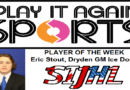 Dryden's Eric Stout Named SIJHL – Play It Again Sports Player of the Week