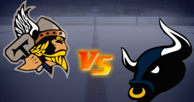 Bulls Double Up on Titans in Bradford in GMHL Action