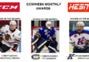 Caruso, Hughes, Manderville Named September 2016 CCHL Players of the Month