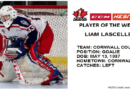 CCHL Colt Liam Lascelle Named CCM/HESN Player of the Week