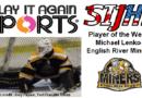 Miners' Lenko Named SIJHL Week 15 Star