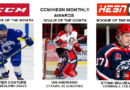 Couture, Andriano & Mulhearn Named CCHL January Players of the Month