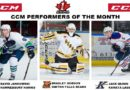 CCHL Names Jankowski, Dobson, Quinn Performers of the Month for November