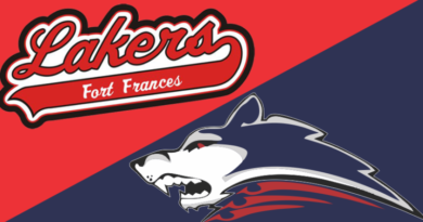 Ice Dogs Edge Lakers in SIJHL Action in Dryden