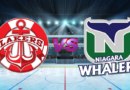 Whalers Harpoon the Lakers in GMHL Action on the Road
