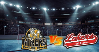 Uhryniuk, Gushulak Combine for Four Points to Help Lift Lakers Past Miners